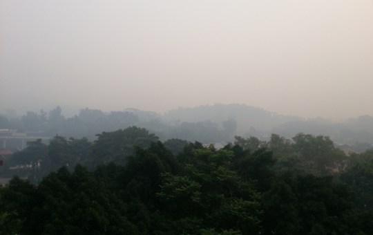 Southeast Asian haze in Singapore