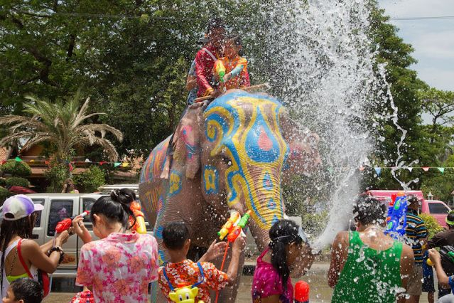 Songkran festival kicks off nationwide today