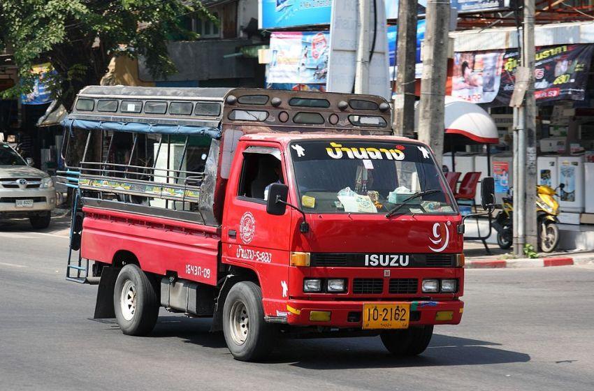ISUZU songthaew in Rayong