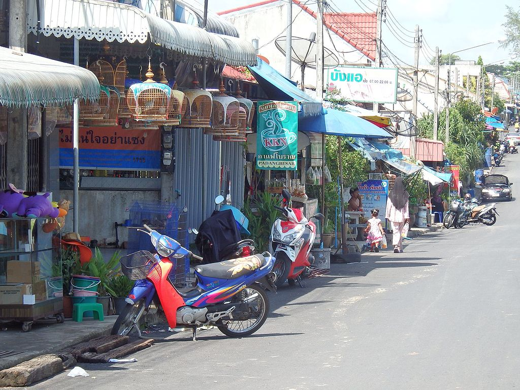 Padangbesa in Sadao District, Songkhla