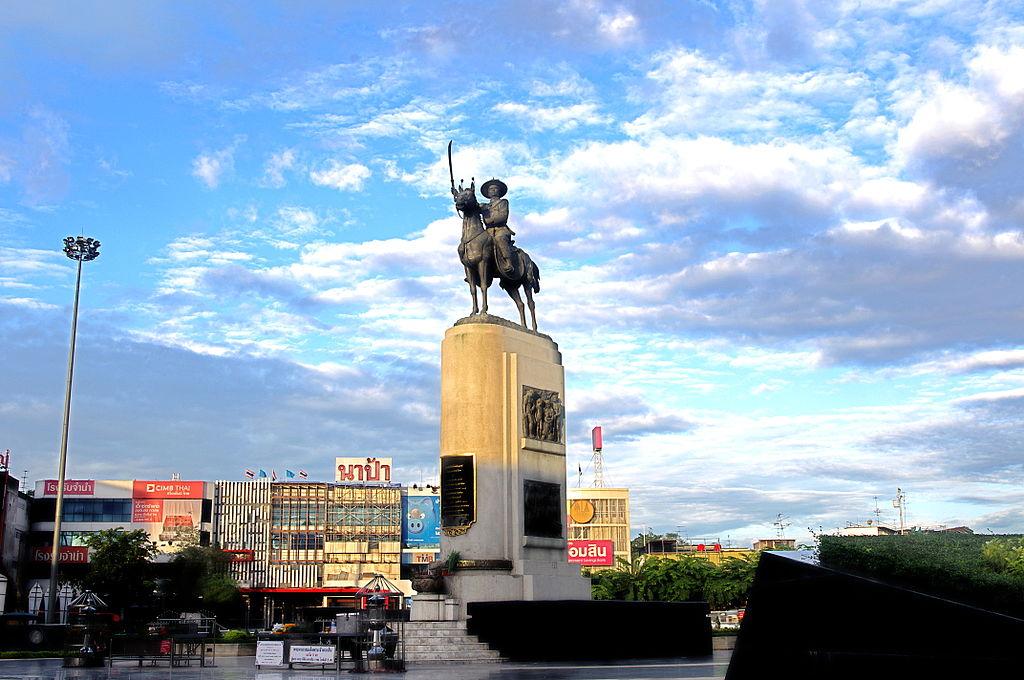 Statue of King Taksin in Thonburi, Bangkok
