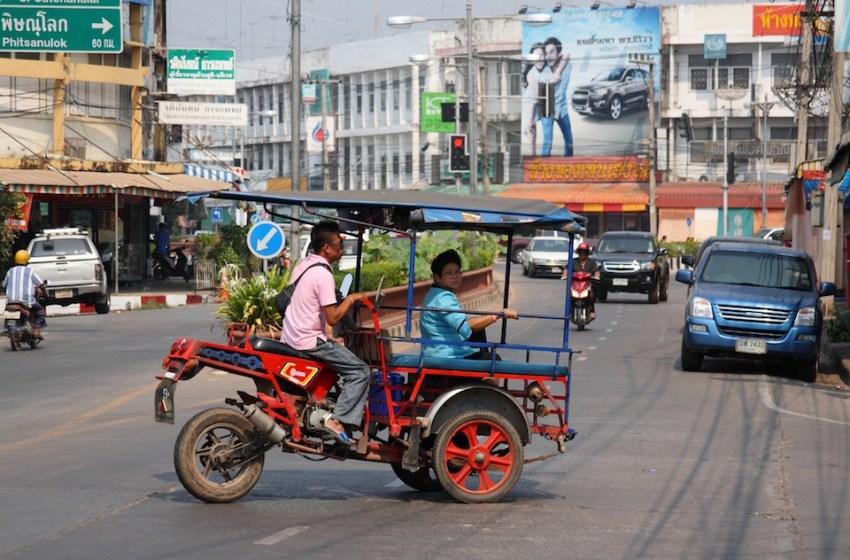 Skylab tricycle n Sukhothai