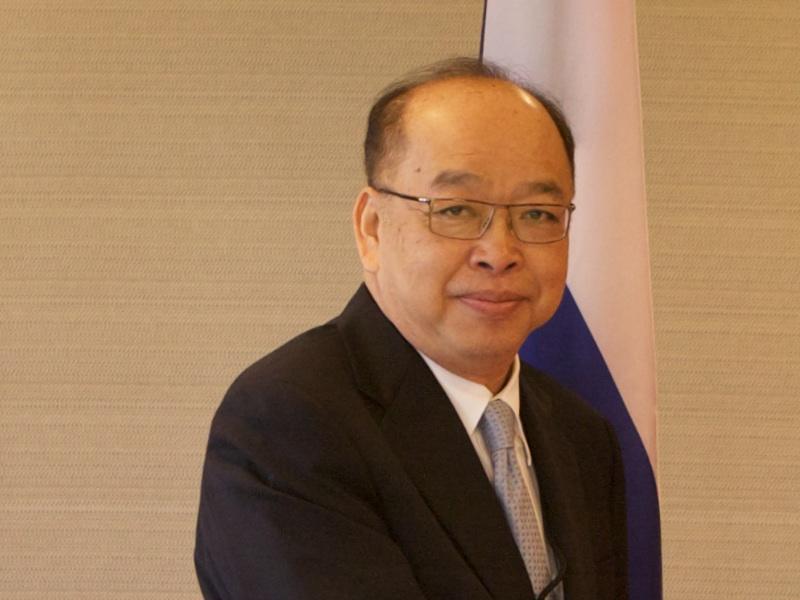 Former Deputy Prime Minister Surapong Tovichakchaikul