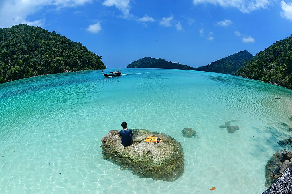 Surin Island Marine National Park in Thailand