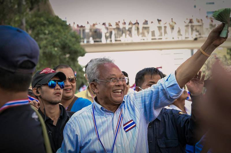 Protest leader and former politician Suthep Thaugsuban