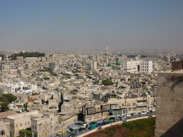 Explosion disrupts Christmas celebrations in Aleppo