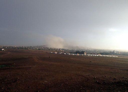 Kobanê in Syria