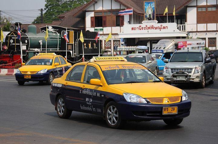 Taxi-meter in Phitsanulok