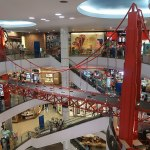 Golden Bridge inside Terminal 21 shopping mall in Korat