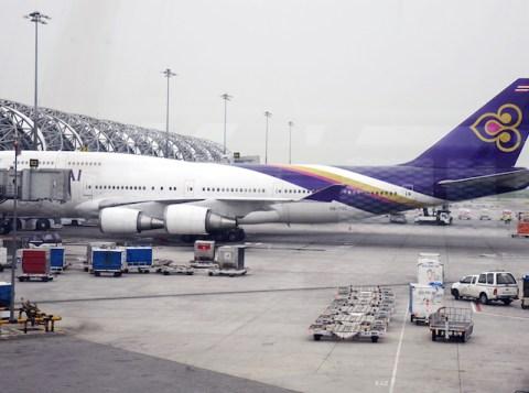 Thai Airways at Suvarnabhumi Airport, Bangkok
