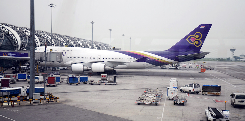 Thai Airways at Suvarnabhumi Airport, Bangkok
