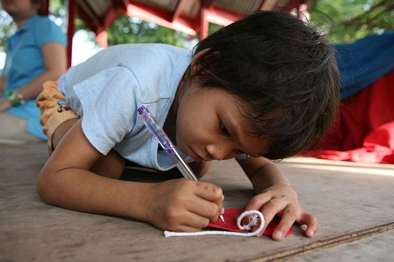 Thai children