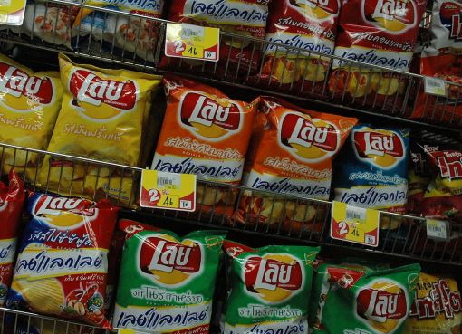 Thai versions of Lay's Potato Chips
