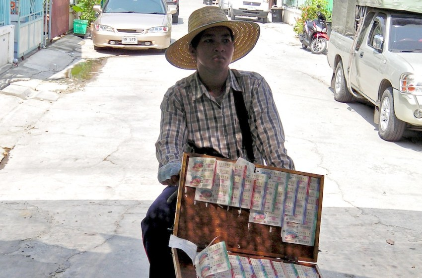 School teacher and lottery vendor under arrest