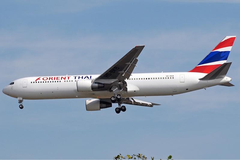 Orient Thai Airlines Boeing 767-300