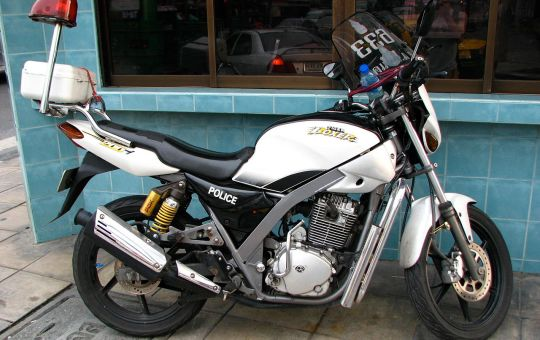 Thai Police motorcycle