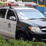 Royal Thai Police pick up in Bangkok
