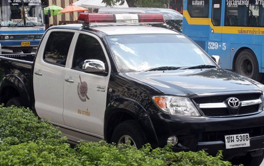 Royal Thai Police pick up in Bangkok