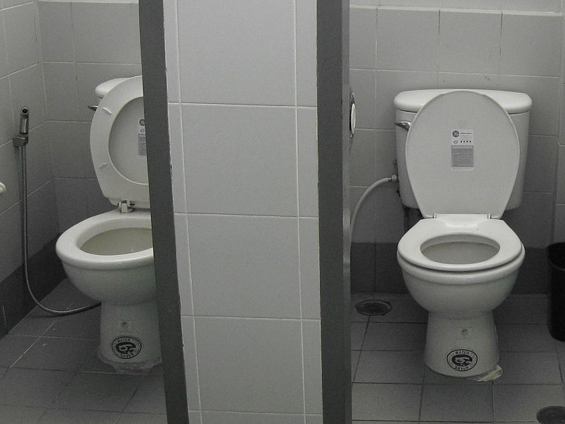 Toilets in Thailand