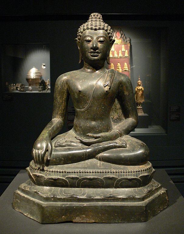 Thai Buddha at Linden-Museum in Stuttgart, Germany