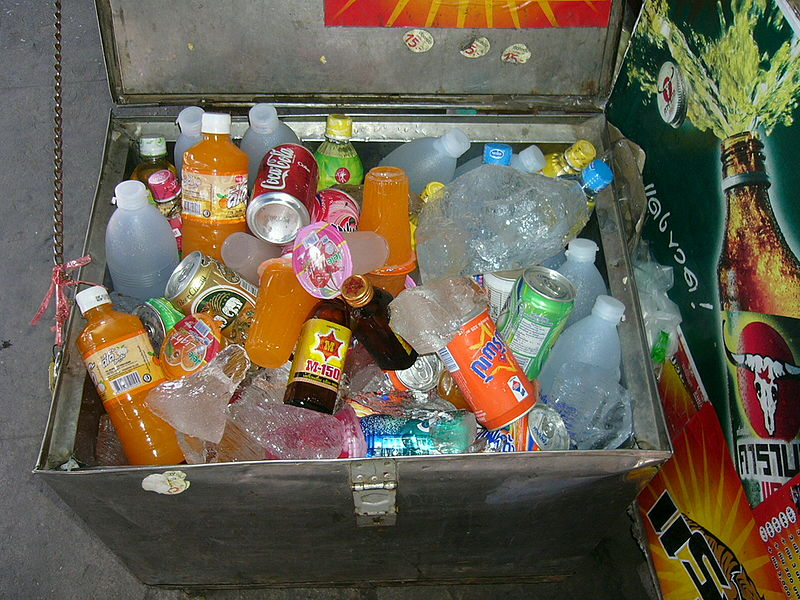 Thai soft drinks