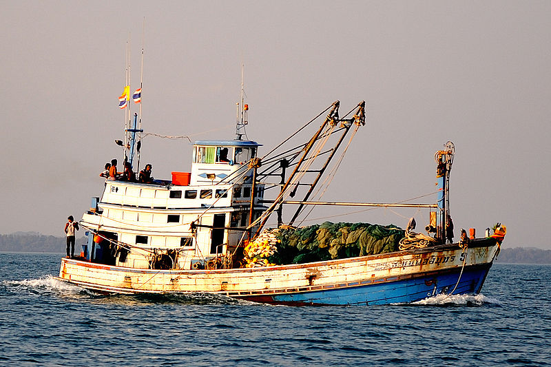 Fishing boat in Koh Samet, Thailand