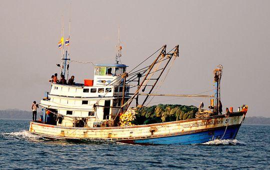 Fishing boat in Koh Samet, Thailand