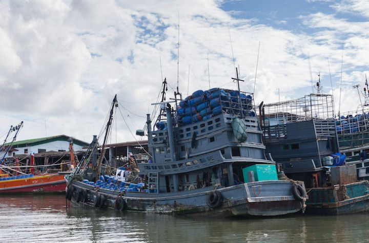 Port of Phuket in Thailand