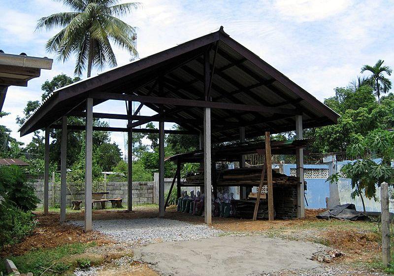 Burglar-proof home in Thailand (Video)