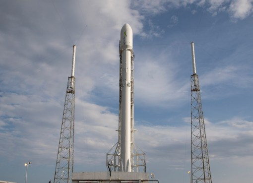 Thaicom 8 before launch in Cape Canaveral