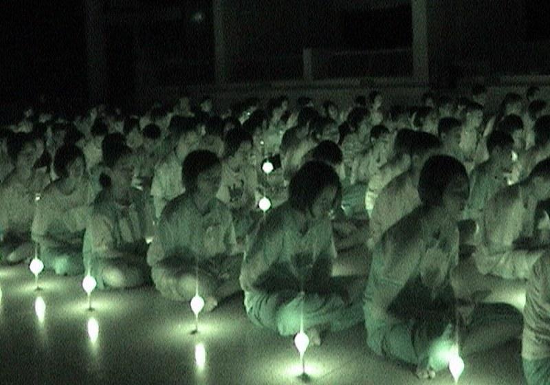 Candle ceremony in Uttaradit