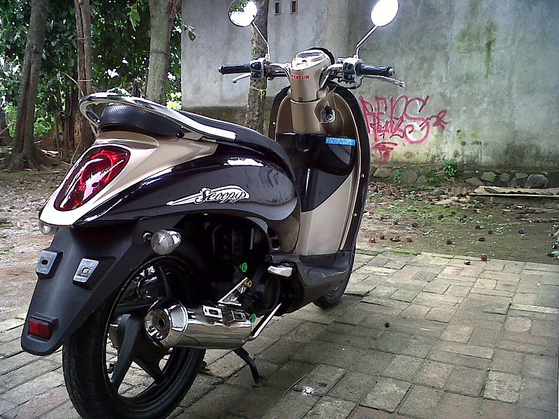 Honda Scoopy in Thailand