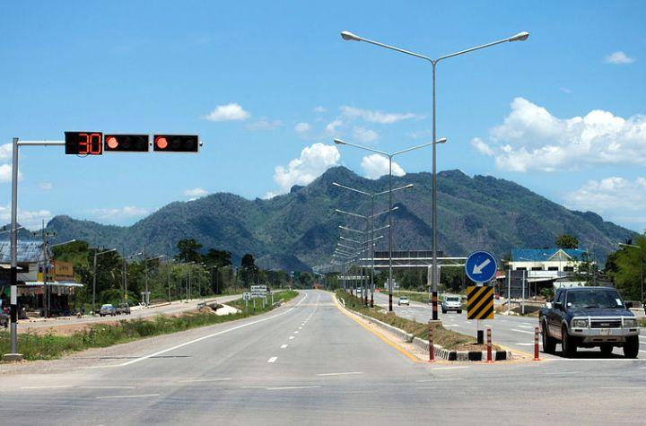 Road in Chaiyaphum