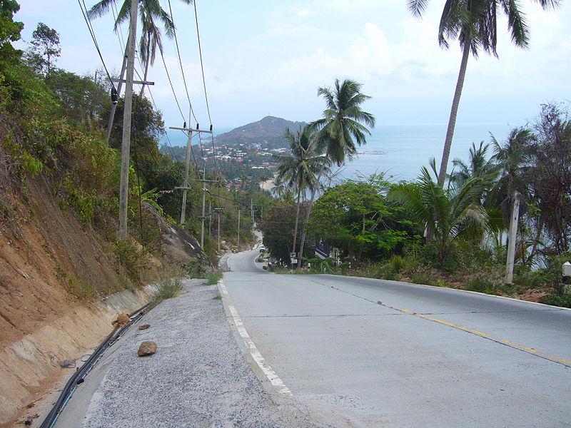 Koh Phangan (view Hua Hin road)