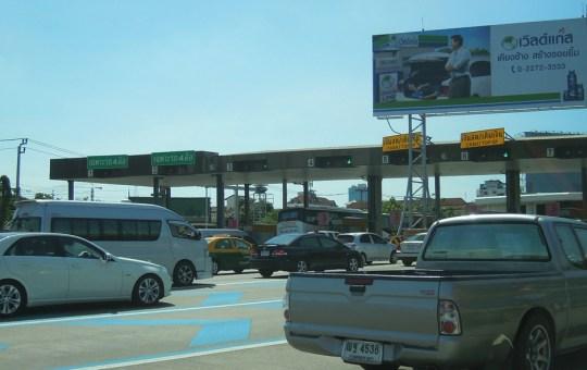 Motorway in Bangkok