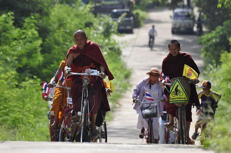 Khon Kaen University unveils world's first silk bicycle