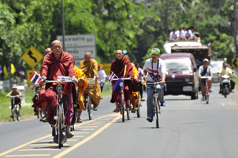 'Reckless' Driver Slams Into Cyclists, Kills One In Kanchanaburi