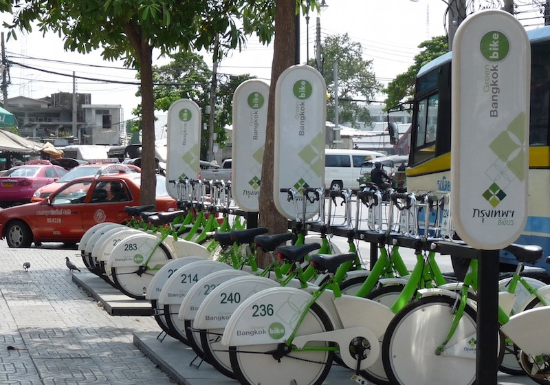 Mobike debuts at Kasetsart University