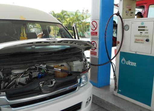 LPG gas station in Thailand