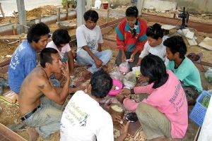 136 Cambodians discovered without work permits arrested in construction site raid