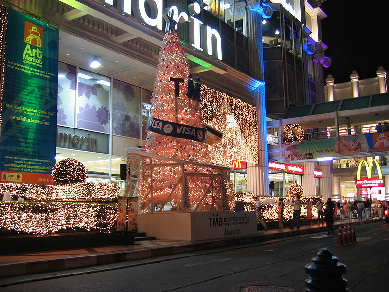 Christmas and New Year in Thailand