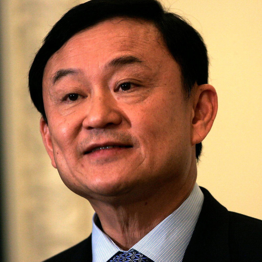 Former Thai Prime Minister and owner of Manchester City FC, Thaksin Shinawatra