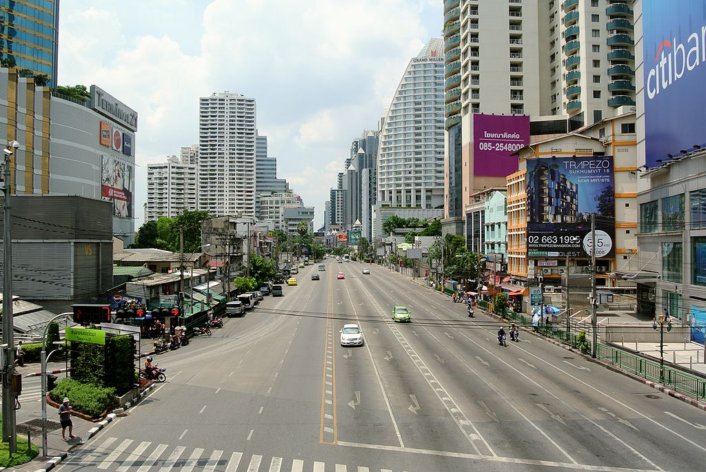 Asok Montri at Sukhumvit crossing, Bangkok