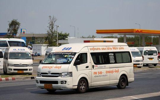 Toyota Commuter ambulance in Thailand