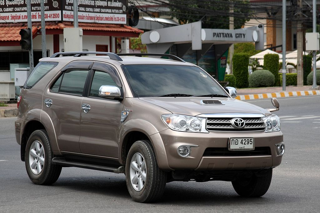 Toyota Fortuner in Pattaya, Chonburi