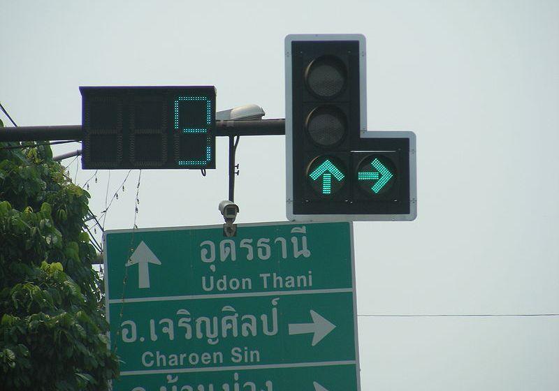 Thailand, green light countdown