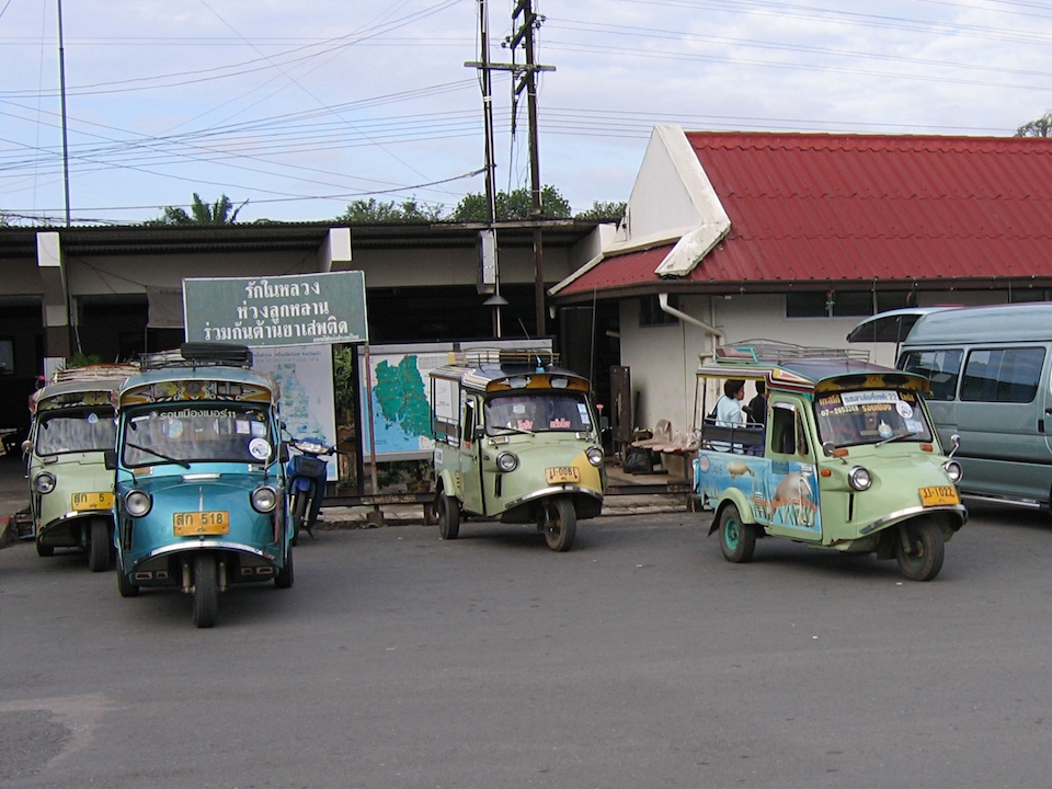 Tuk Tuk Pak Kob, an old type of Tuk Tuks in Trang city