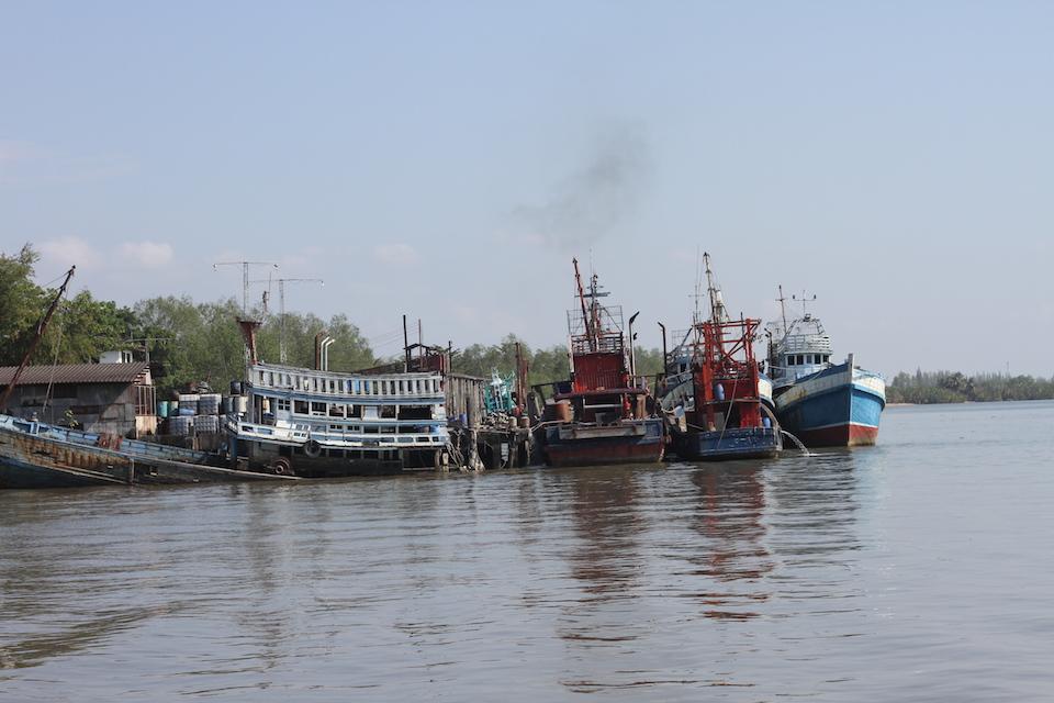 Trang harbor to Koh Libong ferry