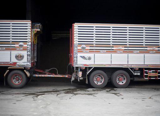 Heavy truck in Thailand