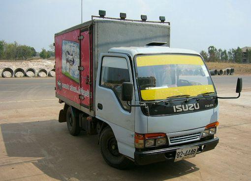 Isuzu NHR truck in Thailand